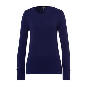 Sleeve Buttoned Pullover Active - 0371/warm  blue