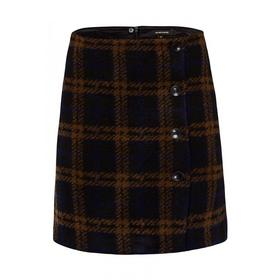 Cosy Check Skirt Active - 3790/black 3 col