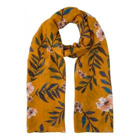 Printed Scarf Active - 4464/pumpkin orange multi