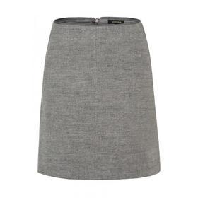 Wool Skirt Active - 0740/warm grey melange