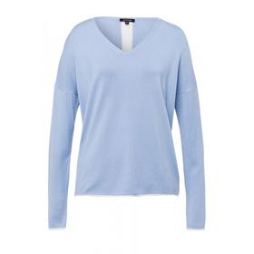 Pullover With Contrast Active - 0315/sky blue