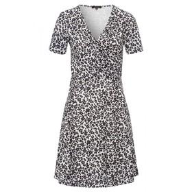 Feminine Jersey Dress Active - 4041/offwhite multi