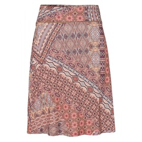 Printed Slinky Skirt Active