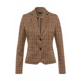 Minimal Check Jersey Blazer Active