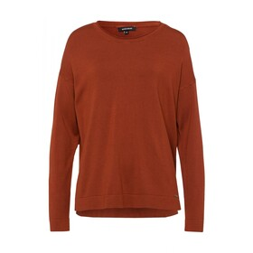 Round Neck Oversize Pullover Active