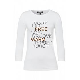 Shirt w placed wording print Active