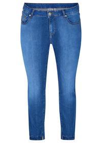 5-Pocket-Stretch-Jeans mit Stufensaum