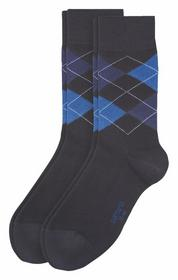 Men Fashion Socks Argyle 2p