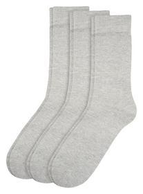 CA Cotton 3-er Pack - 0010/light grey melange
