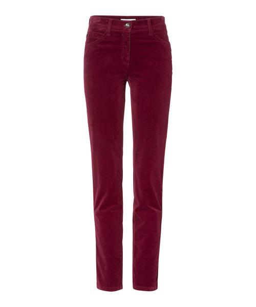 BRAX Feel Good - Sara - Damenhose Five-Pocket - Burgundy