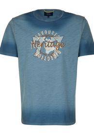 T-Shirt 1/2 NAVY  XXL