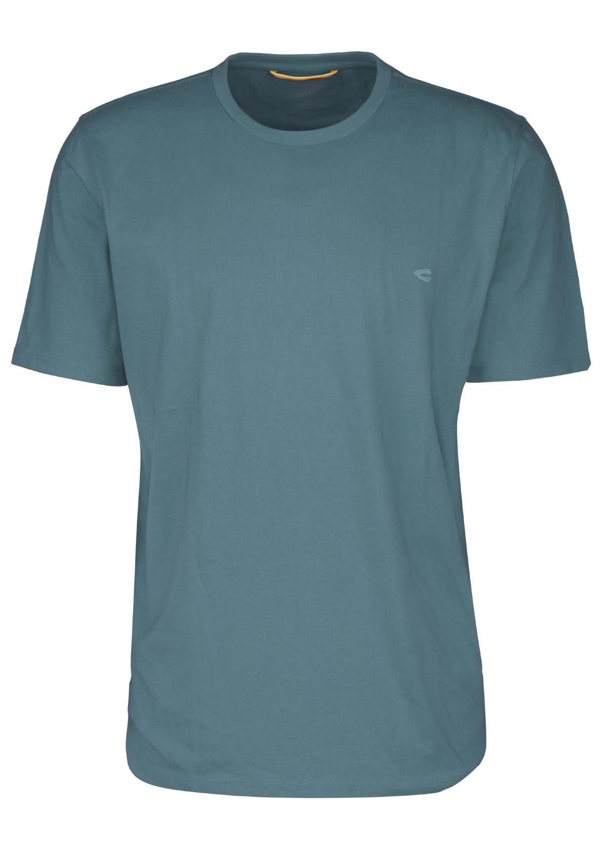 T-Shirt basic petrol L