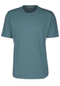 T-Shirt basic petrol L