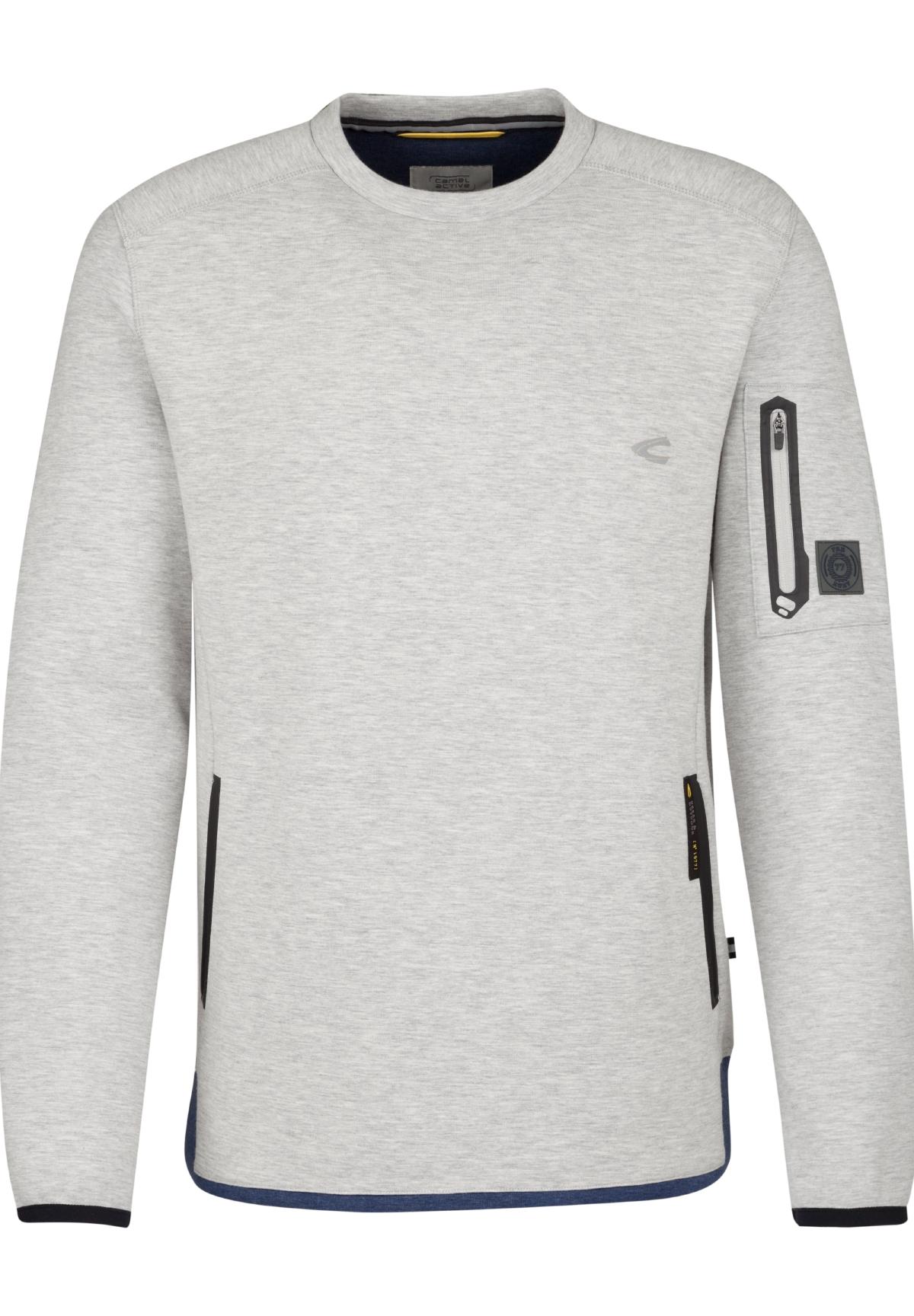 Crew-Neck-Pullover FTW grey melange L