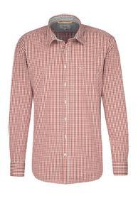 Hemd Dan aus reiner Baumwolle RED L