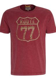 T-SHIRT 1/2, 42 DARK RED LOS + CORE