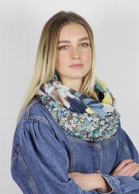 Softer Flower-Loop aus recyceltem Polyester