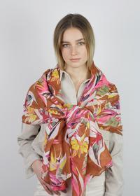 Supersofter Blumen-Schal recyceltem Polyester