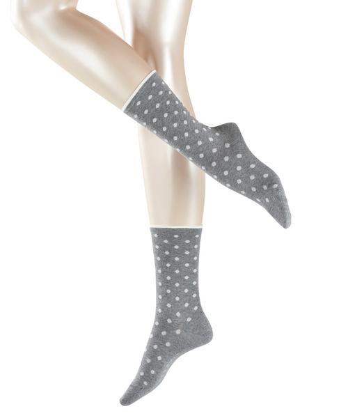 Socken Melange Dot