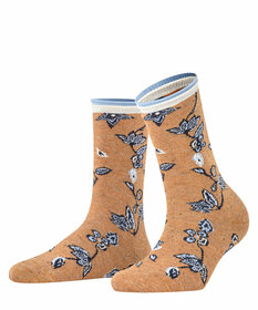 Socken Winter Flower