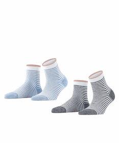 Socken Wide Stripes 2-Pack