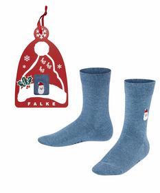 Socken Family Santa