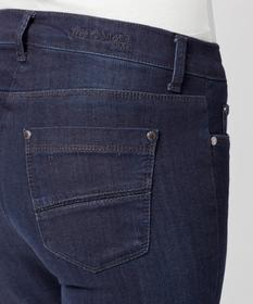 BRAX Feel Good - Shakira Boot Star - Damenjeans Five-Pocket - Dark Blue