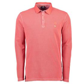 Lerros langärmliges Piqué-Poloshirt