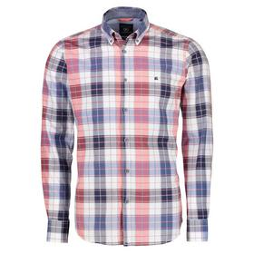 Lerros Langarmhemd mit Oxfordcheck