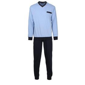 Pyjama, V-Ausschn , Bndchen, belair blue