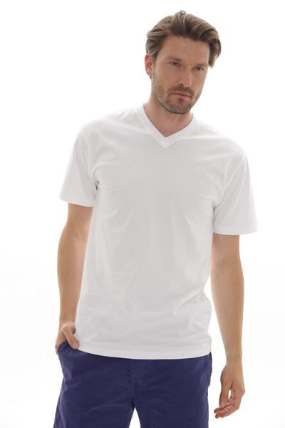 T-Shirt Doppelpack V-neck