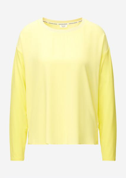 SHIRTS/BLOUSES LONG SLEEVE, yellow cream