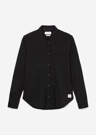 Langarm-Button-Down-Hemd slim