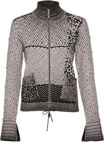 Cold-Dyed Jacke mit Stehkragen und Cloquee