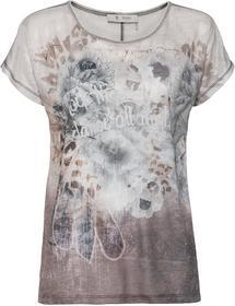 Rundhals-Shirt mit Print auf der Vorderseite