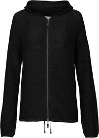Perlfang-Jacke mit Kapuze