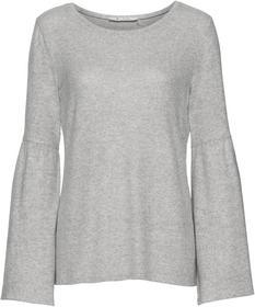 Rundhals-Shirt aus flauschiger Sweat-Qualität