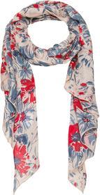 Schal mit Allover-Blumendruck