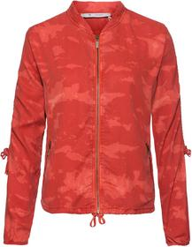 Lyocell-Jacke in Blouson-Form mit Allover-Batikprint