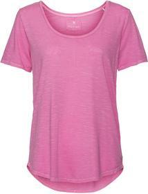Basic-Shirt mit hochwertigem Flammgarn