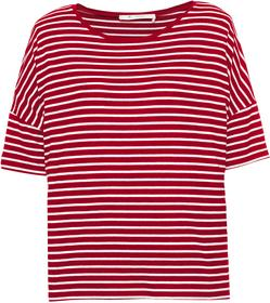 Oversize-Shirt mit Allover-Ringelmuster