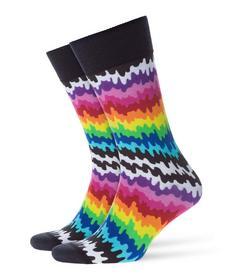 Socken Drippy Print