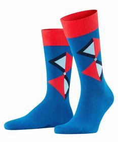 Socken Twisted Argyle