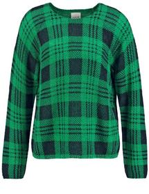 PULLOVER 1/1 ARM - 05092/GALACTIC GREEN GEMUSTERT