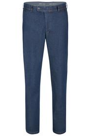 Flat Front - 46/jeansblau