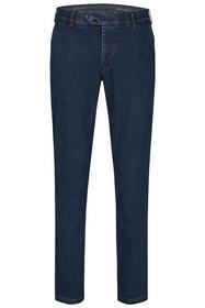 Flat Front Kurzleib - 46/jeansblau