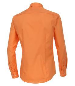 Venti Hemd Slim Fit Größe 38 - Orange - 100% Baumwolle