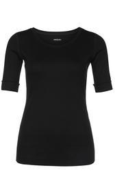 Rundhals-Shirt mit halben Ärmeln