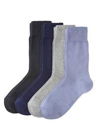 Unisex Classic Socks 4p - 0076/stone mix