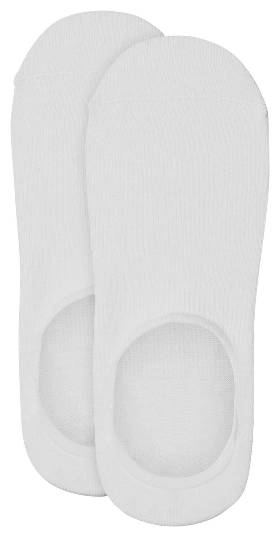 Unisex Fashion Sneaker Invisible 2p, white